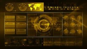 Verde abstrato do LAÇO do fundo da tecnologia vídeos de arquivo