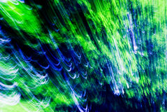 Verde abstrato e azul Fotos de Stock Royalty Free