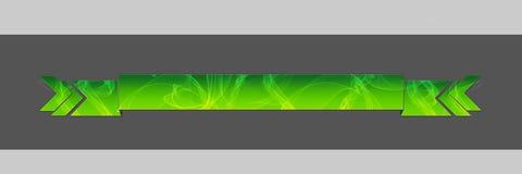Verde affumicato dell'intestazione Fotografia Stock Libera da Diritti
