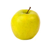 Verde amarelo Apple Fotografia de Stock Royalty Free