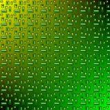 Verde amarillo del modelo Fotos de archivo libres de regalías