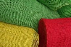 Verde, amarillo y rojo Fotografía de archivo