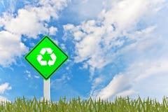 Verde & ricicli il concetto Fotografia Stock Libera da Diritti