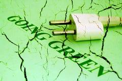 Verde andante Fotografia Stock