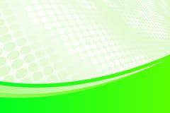 Verde astratto illustrazione di stock