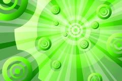 Verde astratto Immagini Stock Libere da Diritti
