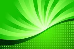 Verde astratto Immagini Stock