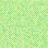 Verde astratto del trifoglio del modello Fotografie Stock