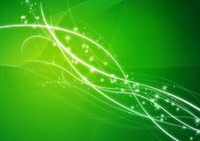 Verde astratto della carta da parati della priorità bassa Fotografia Stock