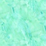 Verde azul Aqua Teal Watercolor Paper Background ilustração do vetor