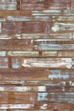 Verde azul branco da parede de madeira da cor da arte abstrato Fotos de Stock