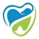 Verde azul dental do dente dos dentes dos amores Imagens de Stock Royalty Free