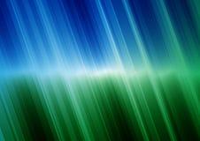 Verde azul do fundo Foto de Stock Royalty Free