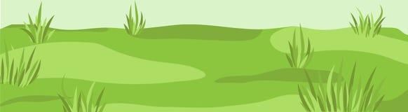 Verde b do grassplot do gramado do hidromel do pasto da grama do campo do céu da pastagem do prado Fotografia de Stock Royalty Free