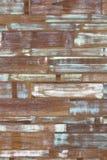 Verde blu bianco della parete di legno di colore di astrattismo Fotografie Stock