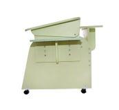 Verde casero del escritorio de la escuela Imagen de archivo libre de regalías