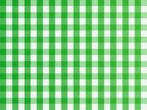 Verde Checkered Imagens de Stock Royalty Free