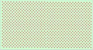 Verde chiaro e rosa Fotografie Stock