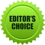 Verde choice del bollo della guarnizione del ` s del redattore Fotografie Stock Libere da Diritti
