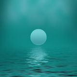 Verde claro abstracto del fondo Fotografía de archivo libre de regalías