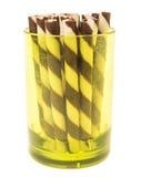 Verde claro do chocolate Imagem de Stock Royalty Free
