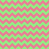 Verde colorido inconsútil del rosa en colores pastel del diseño geométrico de las flechas del vector del modelo de zigzag de Chev Imágenes de archivo libres de regalías