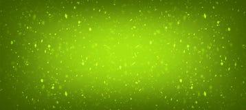 Verde con el fondo fresco de la pendiente de la textura del color del oro para stock de ilustración