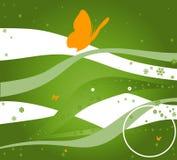 Verde creativo di disegno Fotografia Stock Libera da Diritti
