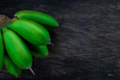 Verde da banana Fotografia de Stock