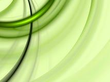 Verde da cor do círculo ilustração royalty free