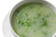 Verde de Caldo, sopa verde Foto de archivo libre de regalías