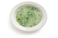 Verde de Caldo, sopa verde Imagen de archivo libre de regalías
