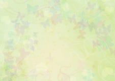 Verde de escritorio del papel pintado Fotos de archivo