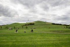 Verde de la colina Imagen de archivo libre de regalías
