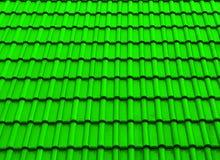Verde de la sombra del tejado de la textura foto de archivo
