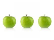 Verde de las manzanas Foto de archivo libre de regalías
