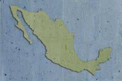 Verde de piedra de México stock de ilustración
