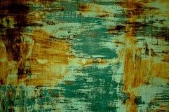Verde de superfície da oxidação Fotografia de Stock Royalty Free