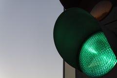 """Verde del †de los semáforos """" imagen de archivo libre de regalías"""