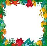 Verde del blocco per grafici di Sealife Royalty Illustrazione gratis