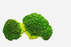 Verde del bróculi Imagen de archivo libre de regalías