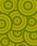 Verde del círculo del modelo Fotos de archivo