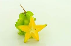 Verde del Carambola Imagen de archivo libre de regalías