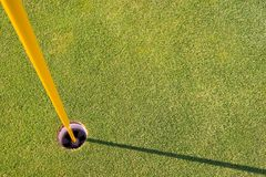 Verde del golf imagenes de archivo