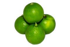 Verde del limón Imagenes de archivo