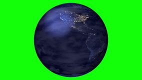 Verde del mundo stock de ilustración