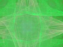 Verde del neón stock de ilustración