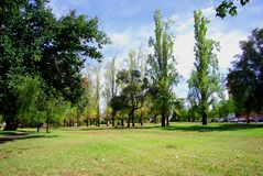 Verde del norte del parque de Adelaide Foto de archivo libre de regalías