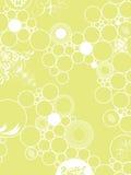 Verde del papel pintado ilustración del vector