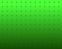 Verde del remache Fotografía de archivo